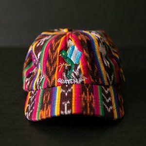 Vintage Guatemala Velcro Strapback Hat
